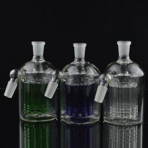 Glassdiy Glass Ash Catcher 14mm 18mm 4.5 Pouces Mini Bong En Verre Attrape-cendres Épaisse Pyrex Clair Bubbler Ashcatcher 45 90 Degrés