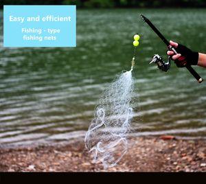 faire une sécurité de type de pêche à puce sans hameçon filet filets pêche Pesca net accessoires