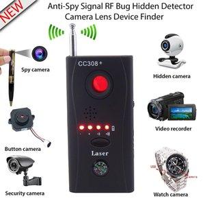Détecteur de signal radio sans fil pleine fréquence Détecteur de périphérique GSM Détecteur de signal laser à lentille laser pour la sécurité personnelle de la vie privée