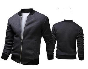 Erkek Giyim moda rahat bombacı ceket erkekler açık palto veste homme jaqueta moleton masculina chaqueta hombre casaco