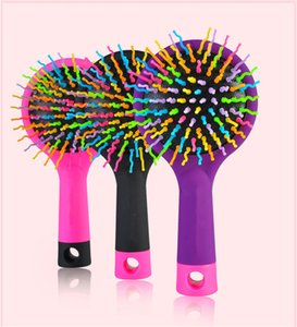 Brosse de cheveux sèche sèche Original Detangler Hair Brush Massage peigne avec airbags peignes pour cheveux mouillés brosse de douche B804