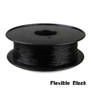 Freeshipping 1kg 1.75 mm черная гибкая нить, Нить гибкого трубопровода, резиновая нить для принтера 3d