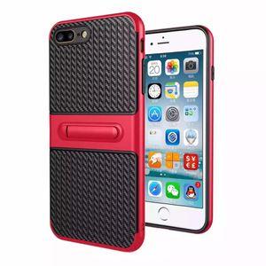 Viajante do telefone móvel shell stent de fibra de carbono 2 em 1 tampa de proteção contra quedas para samsung note4 note5 J3 J5 J7 J310 J510 J710 J5Prime J7Prime