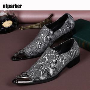 Lujo Italia Tipo Zapatos de vestir de negocios formales para hombres Zapatos de boda para hombres Zapatillas de cuero de moda en zapatos hechos a mano Hombre Zapatos hombre, US6-12