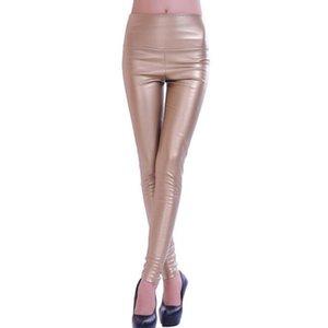 Wholesale- Autumn winter Women clothing skinny PU leather pencil Leggings slim faux Leather Pants female fashion thick fleece trousers 5576