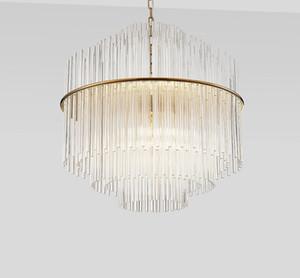 D50 / 68cm Klarglas Bar Kronleuchter Pendelleuchte Hängebeleuchtungskörper Kronleuchter für Restaurant Schlafzimmer Arbeitszimmer Hotel Dining Room