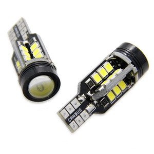 2X T15 Led Canbus Error Car Reverse Light COB Park Lamp Light Turn Signal Temperatura del colore 6000K