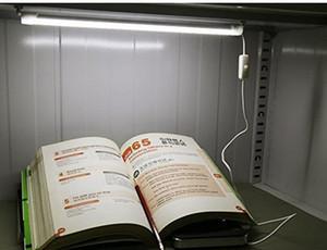 USB المحمولة أنبوب الصمام 5V السوبر مشرق 30CM الطلاب عنبر مكتب مصباح USB الصمام الخفيفة مع زر تشغيل / إيقاف (أبيض دافئ وبارد)