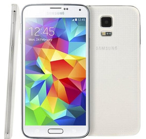 Teléfono original Samsung Galaxy S5 i9600 G900F G900V G900A G900T G900T con batería Quad Core original de 2GB / 16GB 4G LTE reacondicionado