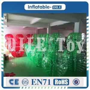 무료 배송 0.8mm PVC 1.5m 버블 풋볼 버블 축구 공 풍선 범퍼 공 에어 축구 공