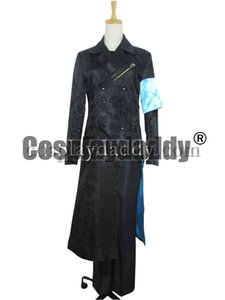 Devil May Cry DMC 5 Cosplay Vergil Nero Trench Coat Costume H008