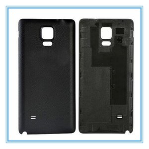 High Quality New Parts OEM Battery Door for Samsung Galaxy Note 4 N910 Black White Back Cover Door Housing Case With Logo Free Shipping