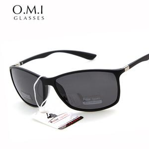 Atacado-WHO CUTIE 2017 Polarized Sunglasses Men esporte ao ar livre para a pesca de condução retângulo Hot Black Raios Frame 4179 Sun Glasses OM15