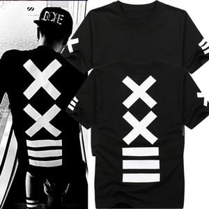 Vente en gros - T-shirts pour hommes de la mode 2016 hba Hip Hop t shirt Tee shirt homme rock t-shirt bandana Print Graphic swag pour hommes