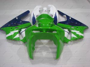 Fairing Kits Zx-9r 1997 Plastic Fairings Zx9r 96 97 أخضر أزرق أبيض ABS Fairing Zx 9r 94 95 1994 - 1997