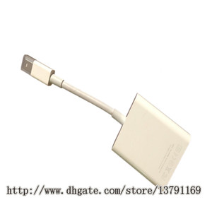 Mini Displayport Male to VGA Famale Adapter Cable for PC Laptop Apple MacBook MacBook Air MacBook Pro 13 inch White
