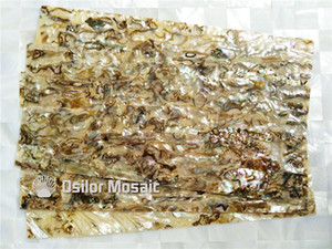 Natural abalone shell laminate for jewel case and musical instrument and furniture inlay SL001