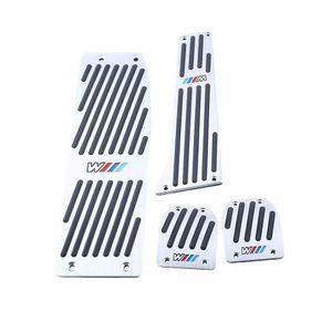 Car Foot Rest Pedal Pad Set Footrest Set For BMW X1 E46 E90 E92 E93 E87