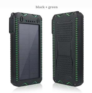 Заряжатель externa батареи банка 50000mah солнечной силы большой емкости водоустойчивый с многофункциональным powerbank для цифровых продуктов