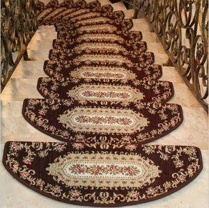 5pcs / lot 스테핑 매트 계단 패드 영역 매트 러그 바닥 매트 안티 - 슬립 커버 카펫 계단 미끄럼 방지 매트
