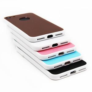 2in1 360 Grad-volle Abdeckungs-vorderer und rückseitiger schützender Telefon-Kasten für iphone 7 Fall weiches TPU Kilif für iPhone 6 6s Plus