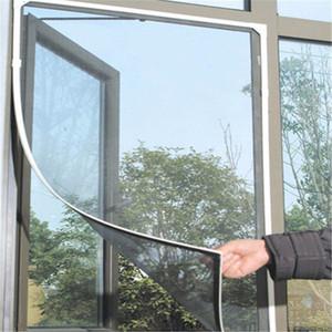 شير الستائر نافذة الشاشة الحشرات البعوض يطير DIY الرئيسية باب نافذة الشاشة شريط التشفير المعاوضة شبكة مثبت الباب نافذة نتس
