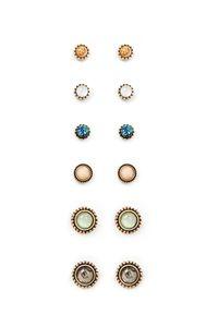 idealway Secteur mignon de cristal perle éléphant forme de fleur de Stud pour femmes Résine Cristal Perles Boucles d'oreilles