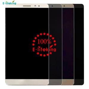Pour Huawei Ascend Mate 7 Écran LCD D'origine Écran Tactile Digitizer Affichage Assemblée Remplacement Livraison Gratuite + Avec Cadre + NoirWhiteGold