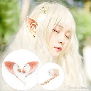 3,5 mm Auriculares Elf Kopfhörer Kopfhörer Ultra-weiche Cosplay Geist mp3 Fairy HIFI In-Ear-Ohrhörer Headset mit Microphoe für Smartphone