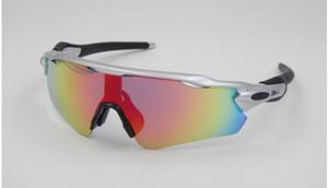 Outdoor UV400 Cycling Sunglasses Uomo Donna Mtb Bike sunglasses Cycling Eyewear Glasses Goggles Set con occhiali da equitazione originali
