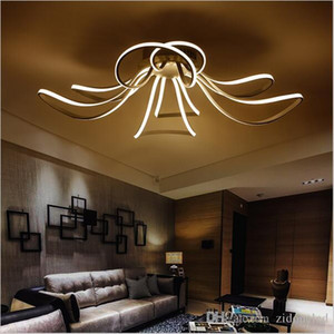 AC85-265V Minimalism Modern led ceiling lights for living room lamparas de techo white led ceiling lamp