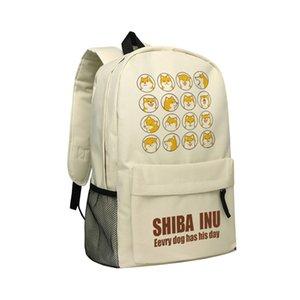 Borsa a tracolla per bambini adolescenti Daypack anche gli adulti in 3 Opzione di colore Doge Shiba Inu Design Series Backpack Collection