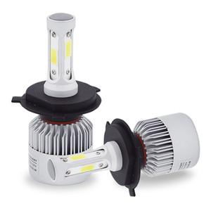 pièces automobiles H4 LED ampoules de phare S2 H7 H11 9004 HB3 9007 H13 COB LED phares antibrouillard tête lampe 2017