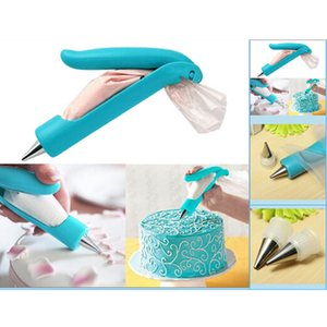 노즐 가방 Icing 파이 파이핑 팁 SugarCraft Fondant Cake Decorating Pen