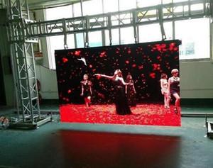 Vídeo conduzido pvd do fundo de fase do concerto, tela video flexível interna da parede da cortina de malha do diodo emissor de luz da cor completa