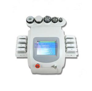 휴대용 6 in1 40KHZ cavitation 무게 손실 1MHZ RF 진공 치료 lipolaser 바디 슬리밍 홈 살롱 사용 기계