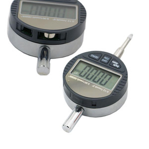 """Бесплатная доставка 0.001 мм электронный микрометр 0.00005"""" цифровой Micrometro метрическая/дюймовая диапазон 0-12.7 мм/0.5"""" циферблат индикатор датчика с розничной коробке"""