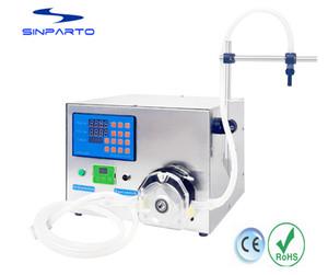 máquina de enchimento de óleo comestível máquina de enchimento de glicerina elétrica e-líquido máquina de enchimento de enchimento da bomba peristáltica com 5000 ml / min para a água