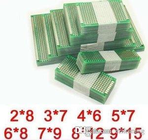 8 قطع 9 * 15 8 * 12 7 * 9 6 * 8 5 * 7 4 * 6 3 * 7 2 * 8 cm ضعف الجانب النحاس pcb