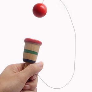 Habilidad bola pelota espada mano coordinación ejercicio de madera juego de juguete juguetes deportivos al por mayor envío gratuito