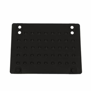 Atacado- resistente Mat Anti-calor Silicone calor Mats para cabelo Straightener Curling Iron (preto) 215 * 165 centímetros