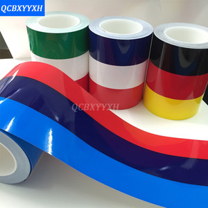 15 X 100 CM PVC Car Bumper completo Pegatinas divertidas calcomanías para BMW Audi Skoda VW Lada Ford Toyota Opel Insignia KIA