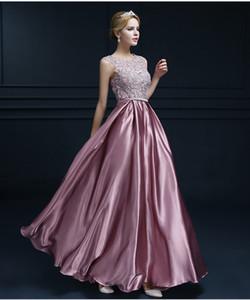 2019 New Borgogna Sexy Prom Dresse Doppio spallino Lungo Pizzo Rosa Abiti da sera formale Custom Plus Size Abiti da sposa Marrige Party 225