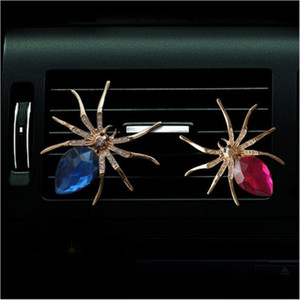 Mini Car Outlet Air Profumo Lovely Spider Perfume Auto Decorazione Accessori 6 Colori Spider Car Outlet Perfume ATP213