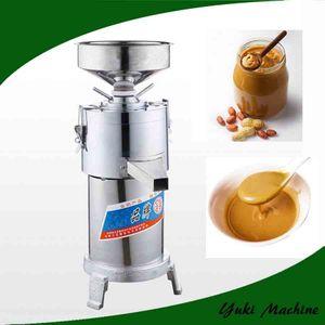 Tahini commerciale 35kg / h che fa burro di arachidi a macchina che fa il mulino a macchina della smerigliatrice del burro di arachide dell'acciaio inossidabile
