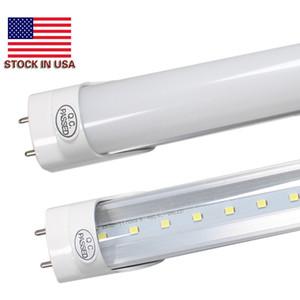 Lâmpadas LED Tubes 4 Pés FT LED 4 pés tubo 18W 22W T8 Luz fluorescente 6500K Branco Frio Atacado Fábrica de + Estoque em US