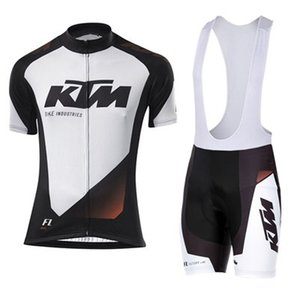 KTM roupas de Ciclismo e Ciclismo Bib Shorts Kits de Roupas de Bicicleta Respirável Ropa Ciclismo Bike Jerseys Sportswear Frete grátis