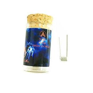 Più nuovo Originale autentico Demone Killer Bobine Fiamma 316L 6 pz bobine Per Sigaretta E RDA Atomizzatori Kit FAI DA TE di Alta qualità vendita Calda