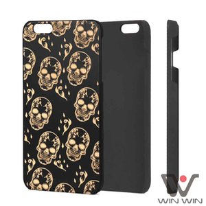 Shockproof Phone Cases For iPhone 6s 7 8 Plus 11 12 Pro X Xs Xr Max Black Wood PC Dirty Resistant 2021 Luxury Back Cover Wholesale