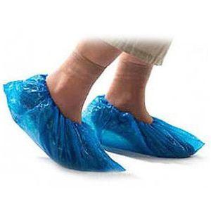 Spedizione gratuita monouso copri scarpe salute copertura del piede di plastica medica senza scarpa 100 copertura installata